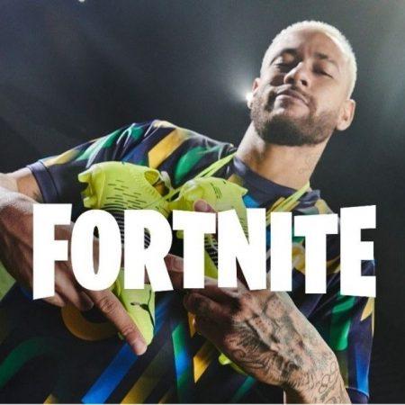 Neymar Jr is now on Fortnite