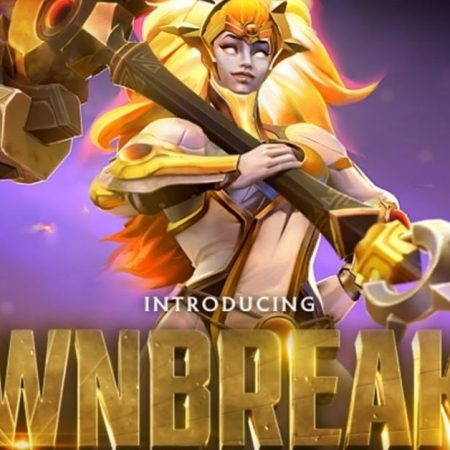 Dota's all-new hero, Dawnbreaker