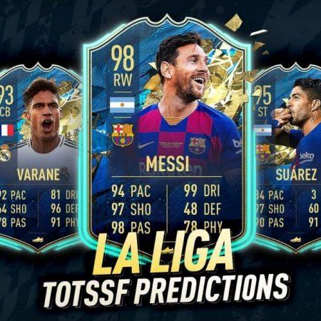 Ranking the Best La Liga TOTS 20/21 cards