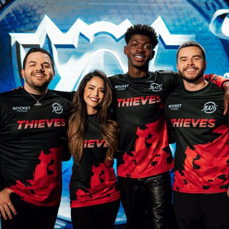 100 Thieves collabs with Lil Nas X